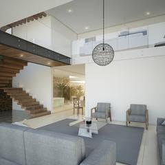 Vista Sala de Estar: Salas de estilo  por 21arquitectos