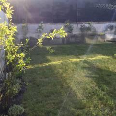 Vista general del jadín: Jardines de estilo  por Deck and Garden