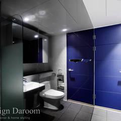수유 두산위브 아파트 34py: Design Daroom 디자인다룸의  욕실,모던