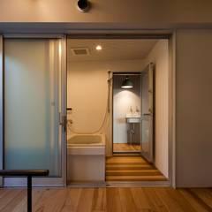 うわうみウェアハウス: ジャムズが手掛けた浴室です。