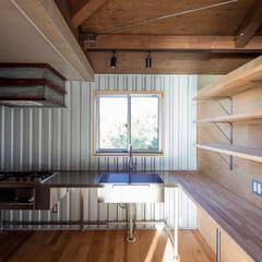 うわうみウェアハウス: ジャムズが手掛けたキッチンです。