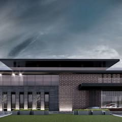 Espaces de bureaux modernes par VERO CONCEPT MİMARLIK Moderne