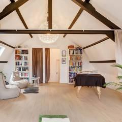 Interne verbouwing Leiden:  Slaapkamer door Puurbouwen