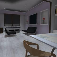 piso1: Estudios y biblioteca de estilo  por ATELIER3
