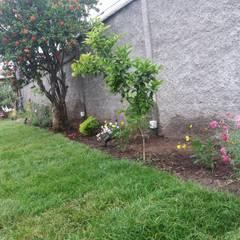 Detalle Macizo Oriente: Jardines de estilo  por Deck and Garden