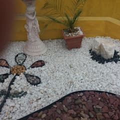 Zen garden by Deck and Garden