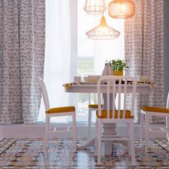 Столовая: Столовые комнаты в . Автор – Design Service