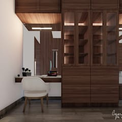 Dressing room by Cynthia Barragán Arquitecta