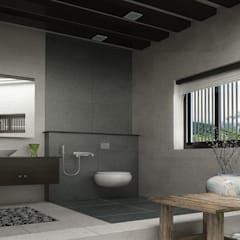Bathroom by Monnaie Interiors Pvt Ltd,