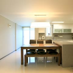 modern Dining room by Design Mind Mirae