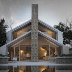 Country house by homify, Scandinavian پتھر