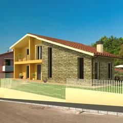Projekty,  Willa zaprojektowane przez AplusP  Architettura e Paesaggio