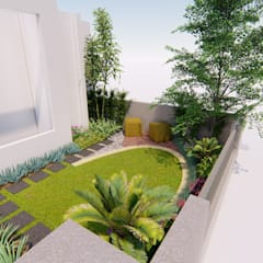 Voortuin door 1mm studio | Landscape Design