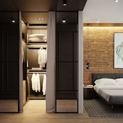 industrial Dressing room by Lines