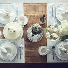 Dining room by 文儀室內裝修設計有限公司