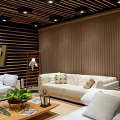 Living room by ADO arquitetura