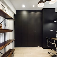 極簡法式絮語  :  書房/辦公室 by 文儀室內裝修設計有限公司