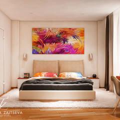 Wonderful design project: styl , w kategorii Sypialnia zaprojektowany przez Design studio TZinterior group