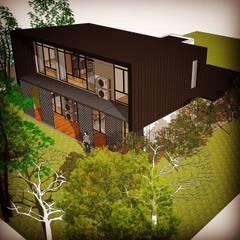 Choo's Detached House, Kuching:  Houses by Alto Builders Sdn Bhd