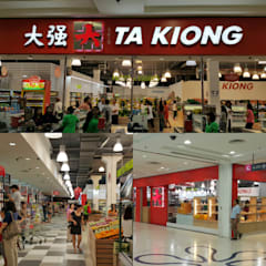 Takiong Supermarket in The Spring Mall, Kuching:  Shopping Centres by Alto Builders Sdn Bhd
