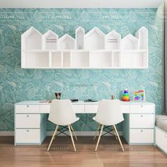 THIẾT KẾ CĂN HỘ VỚI NỘI THẤT PHONG CÁCH CHÂU ÂU - Sarica Condominium Sala:  Phòng trẻ em by ICON INTERIOR,