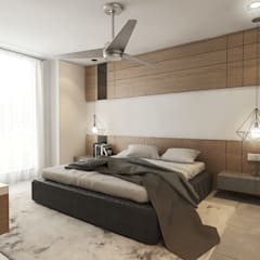Aurora :  Bedroom by Verde Design Lab