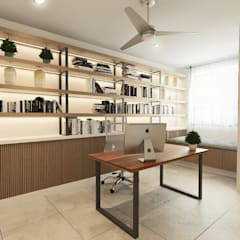 Aurora :  Study/office by Verde Design Lab