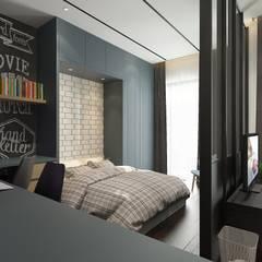 ห้องนอน by Verde Design Lab