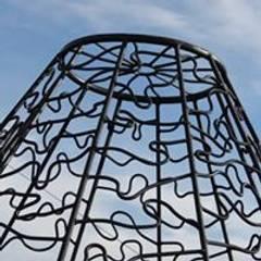 Jardines en la fachada de estilo  por Atelier ferro quente ,