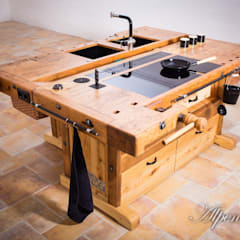 Alpenmöbel® - Design trifft Geschichteが手掛けたキッチン収納