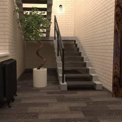 Студия дизайна Елены Нужинойが手掛けた階段