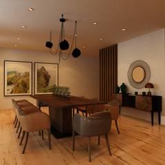 Sala de Jantar: Salas de jantar  por Paulo Faria Design