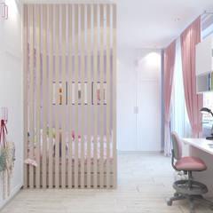 ห้องนอนเด็ก by Гузалия Шамсутдинова | KUB STUDIO