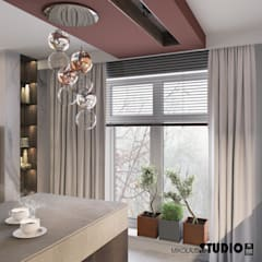 Built-in kitchens by MIKOŁAJSKAstudio , Eclectic