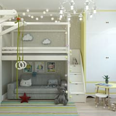 Nursery/kid's room by Гузалия Шамсутдинова | KUB STUDIO