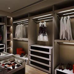 Dressing room by 鈞亨國際設計有限公司
