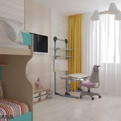 Nursery/kid's room by Студия дизайна интерьера L'grans
