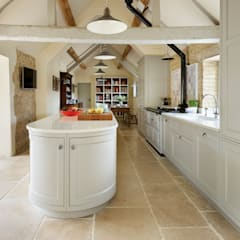 Restored Farmhouse:  Kitchen units by Teddy Edwards