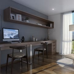 Study/office by Xline 3D,