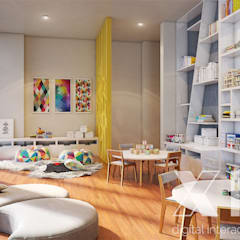 One 88 by Xline 3D : modern Nursery/kid's room by Xline 3D Digital Architecture