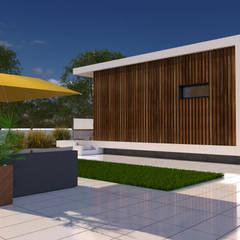 Nhà thép tiền chế by Arbisland Arquitectura & Design