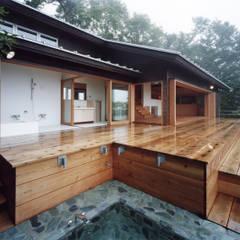 Projekty,  Spa zaprojektowane przez 中庭のある家|水谷嘉信建築設計事務所