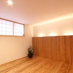 寝室: CN-JAPAN/藤村正継が手掛けた寝室です。