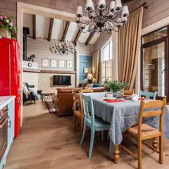 وحدات مطبخ تنفيذ 'Студия дизайна Марины Кутеповой'