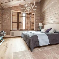 غرفة نوم تنفيذ 'Студия дизайна Марины Кутеповой'