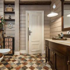 浴室 by 'Студия дизайна Марины Кутеповой'