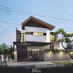 CH House :  Rumah tinggal  by Atelier BAOU+