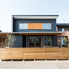 Passive house by 株式会社山口工務店, Modern Iron/Steel