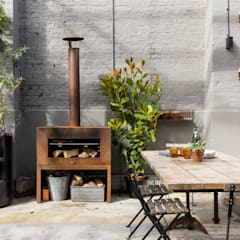 industrial Garden by Imperfect Interiors