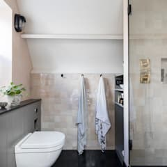 East Dulwich Industrial Conversion:  Bathroom by Imperfect Interiors